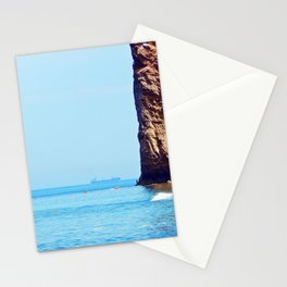 Man and Perce Rock Stationery Cards