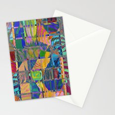 Colorful Zebras Stationery Cards