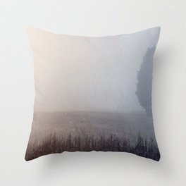Lone Cedar Throw Pillow
