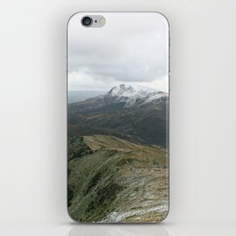 Snowy Welsh Mountains 4 iPhone Skin