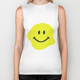 Smile! Yellow Biker Tank