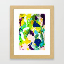 Steps of a woman Framed Art Print
