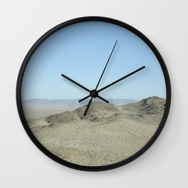 view from giant rock Wall Clock