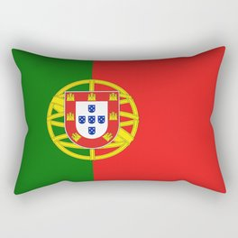 Flag of Portugal Rectangular Pillow