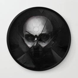 Fractured Will Wall Clock