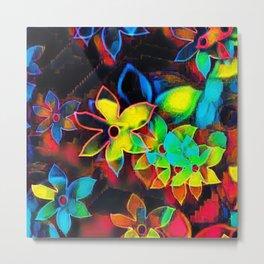Tropical Petals Metal Print