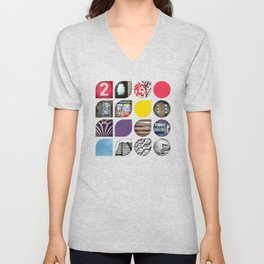 Cold Comfort Collage — The Streets Unisex V-Neck