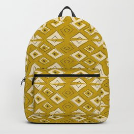 Broken Triangles in Gold Backpack