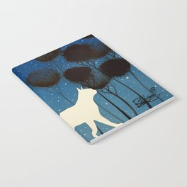 THE POETRY OF A NIGHT by Raphaël Vavasseur Notebook