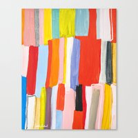 library Canvas Prints featuring Library by Emily Rickard
