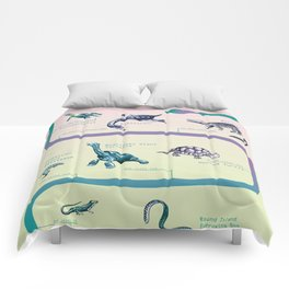 extinct reptiles Comforters