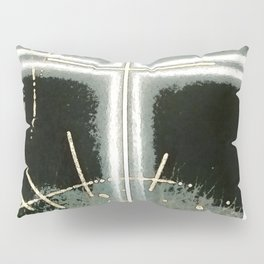 Faith and Trust in Self . Green Pillow Sham