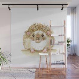 happy hedgehog Wall Mural