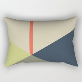 bandana || camou & coral Rectangular Pillow
