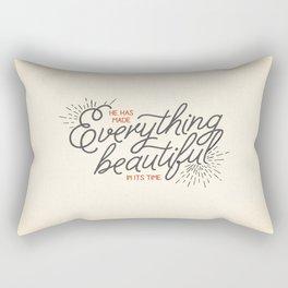 EVERYTHING BEAUTIFUL Rectangular Pillow