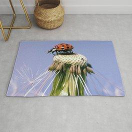 Dandelion Ladybugs Rug