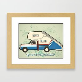 They see Me Ridin Bluth  Framed Art Print