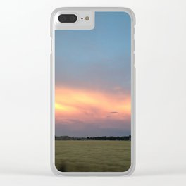 Rural Warmth Clear iPhone Case