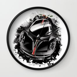 Pagani Huayra (La Monza Lisa) Wall Clock