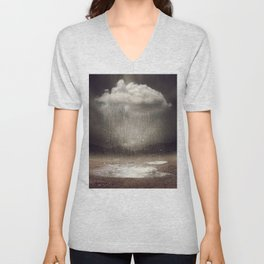 It's Okay. Even the Sky Cries Sometimes. Unisex V-Neck