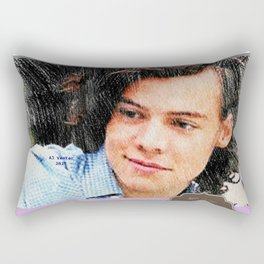 Harry Styles, One Direction, 1D, 1dFanArt, 2017 Calendar, Calendar, 2017 Rectangular Pillow