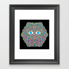 Tree Man Cosmic Serpents Codex I Framed Art Print