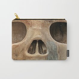 Picasso Stone Skull Carry-All Pouch