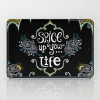 spice iPad Cases featuring Spice by Melinda Francis