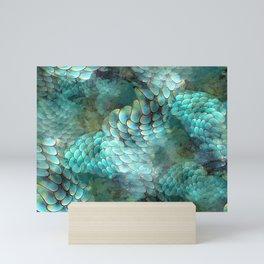 Mermaid Scales Mini Art Print