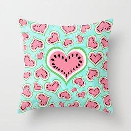 Watermelon Love... Throw Pillow