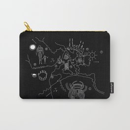 Owl Cave Map Carry-All Pouch
