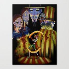 Circo di Bizarre Canvas Print