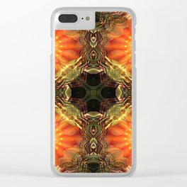 Manifest Sacred Flame Activation Clear iPhone Case