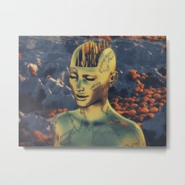 citybrain Metal Print