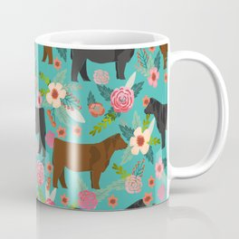 Angus cattle farm friendly gifts perfect for homesteader homestead lover Coffee Mug