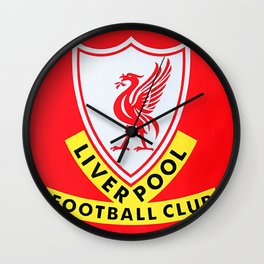 This is Anfield - Liverpool Classic Logo Wall Clock