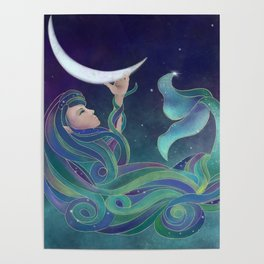 Drawing Down The Moon Poster