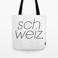 Schweiz  Tote Bag