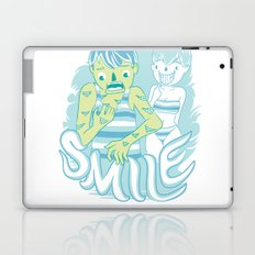 Smile It's contagious :D Laptop & iPad Skin