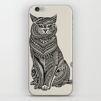 british iPhone & iPod Skins featuring Polynesian British Shorthair cat by Huebucket