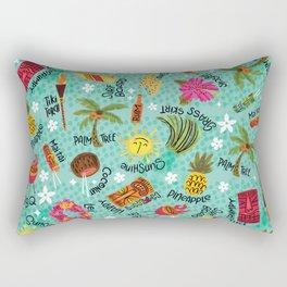 It's A Tiki Party! Rectangular Pillow