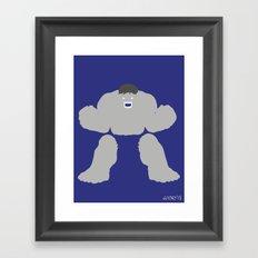 Radiology (Variant) Framed Art Print