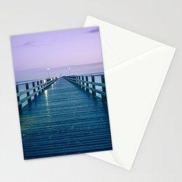 Seebruecke Bridge Zinnowitz Germany Usedom Island Mecklenburg Western Pomerania Ultra HD Stationery Cards