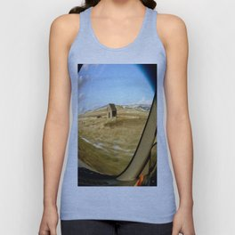 Snap Shot Out The Car Window Unisex Tank Top