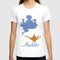 aladdin T-shirts featuring Aladdin by Citron Vert