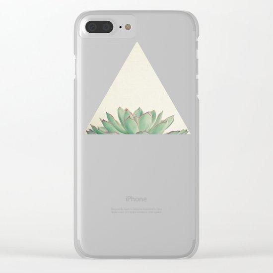 Echeveria Clear iPhone Case