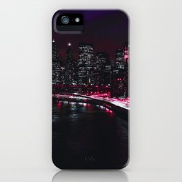 Red New York City iPhone Case
