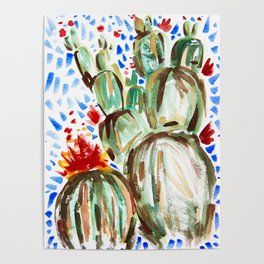 Melody Maker Plants Poster