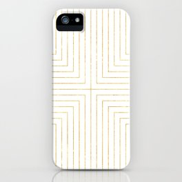 Converge Three Gold iPhone Case
