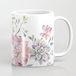 succulent watercolor 6 Coffee Mug